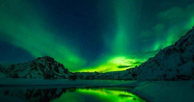 iceland Aurora Boreale 1280x720