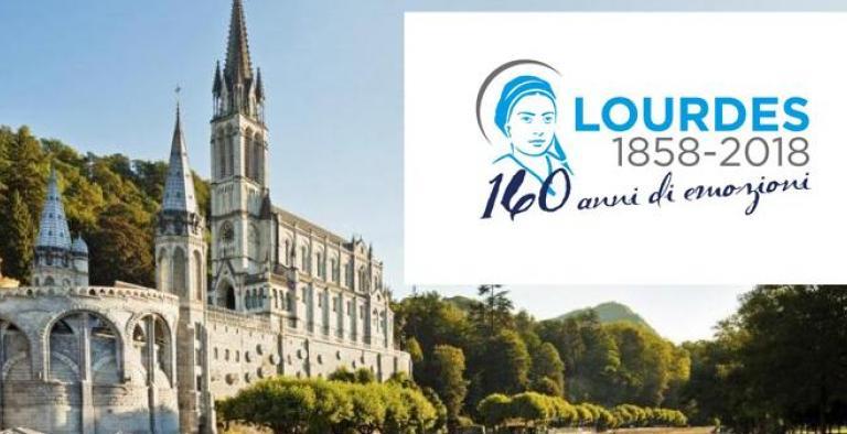 Lourdes in aereo